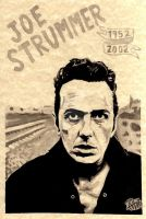 Joe Strummer by favicius