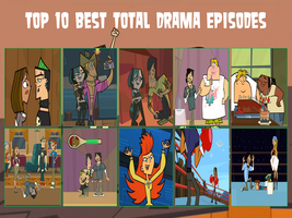 air30002's Top 10 Best Total Drama Episodes by air30002