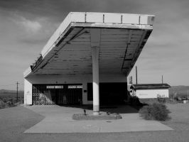 Route 66 Gas Station by MikeZadopec