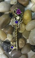 Midnight Spider Fantasy Key by ArtByStarlaMoore