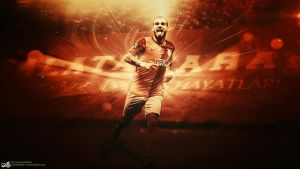 Wesley Sneijder Wallpaper by AlpGraphic13