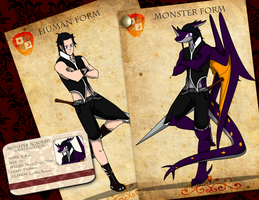 Killian Dark's Monster Academy Application by KillianDark