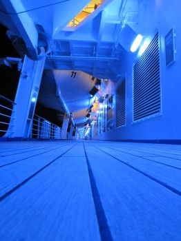 Deck of the Ship by jonnypui