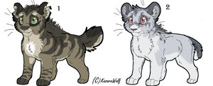 Saber Kits Point Adoptables Set 3 GONE by Kasara-Designs