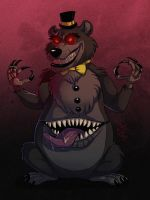FNAF 4 - Nightmare by LadyFiszi