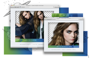Pack Png 961 // Cara Delevinge. by ExoticPngs