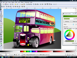 Dbl Decker Bus screencapture by QuicheLoraine