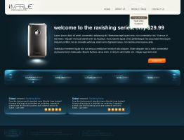 Imprue iPHONE Case website v1 by InnovatedMind