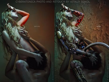 CYBERATONICA. BEFORE AND AFTER by Vitaly-Sokol