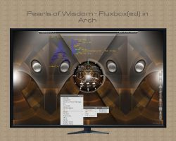 Pearls of Wisdom - Fluxbox(ed) in Arch by rvc-2011