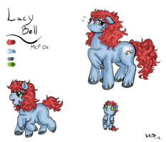 MLP OC: Lacy Bell by LadyVentuswill
