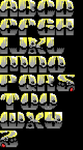 TheDraw Ansi Font 'Zook' by roy-sac