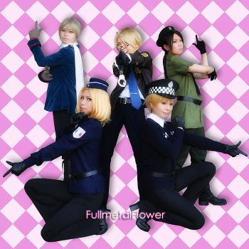 APH:POLICE1 by fullmetalflower