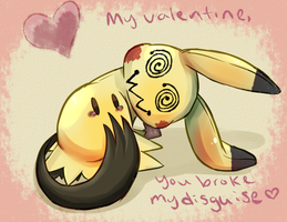 Valentine: Mimikyu's Disguise by Imalune