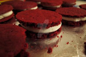 Red Velvet Cookies by AdmiralAngela