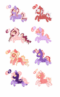 Breedable Foals For Carnivvorous by luxrayfan33