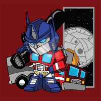 Optimus Prime by Sideways8Studios