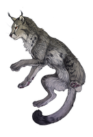 The lynx Daemon by Chaluny