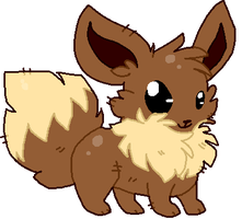 Eevee by DemonicShadow91
