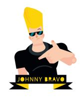 Johnny Bravo scrap by Helbetico