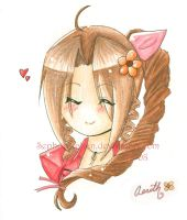 Chibi Aerith by Sephora-chan