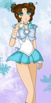 Sailor Star Shine - Solider of Frost and Light by HatterRose