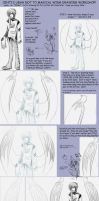 Drawing Angel Wings by Centi
