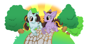 MLP me and my sister by Pu3ppchen