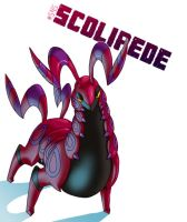 No: 545 Scolipede by wildragon