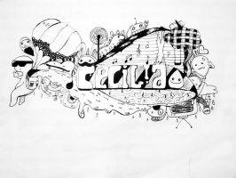 My 1st doodle by ygine