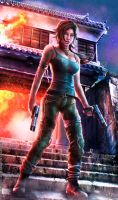 REBORN LARA: Weapons Of Choice - Tomb Raider 2013 by Eddy-Shinjuku