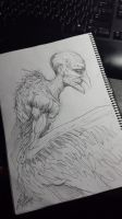 Vulture (wip) by LordNetsua
