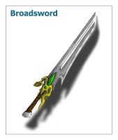 Broadsword by iamthemiggy