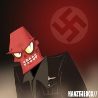 Red Skull- quick by hanzthebox