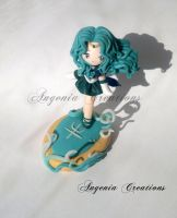 Sailor Neptune statue by AngeniaC