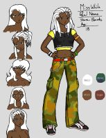 Miss White Character Reference by Beck-Carter