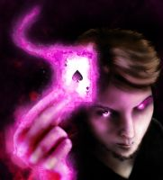 Louis as Gambit by RancidRainbow