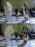 Plastic hand and marker by jokerpack