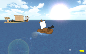 Boat Game Test 2 by PeturPetur