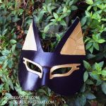 Leather Bastet Mask by nondecaf
