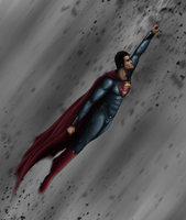 Man of Steel by MrChrizpy