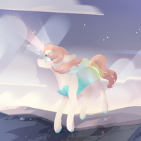 Pearl???? Pony by Aetherlily