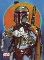 Topps Galaxy 4: Boba Fett by Randy-Martinez