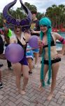 AFO Pool party Syndra and Jinx by kingofthedededes73
