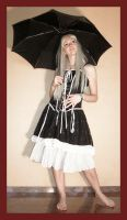 Alice with umbrella 1 by Lisajen-stock