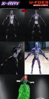 Custom X-Ray (Marvel U-Foes) Action Figure by MintConditionStudios