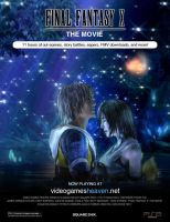 Final Fantasy X Movie Poster by yic