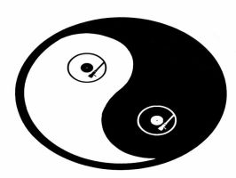 Turntable Yin Yang by RenegadeOfTrance