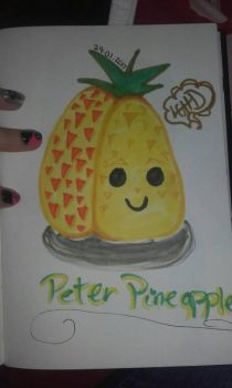Peter Pinapple by LoveGunHauntingDream