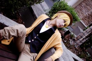 Kise Ryota_Character Book_1 by passerbyDing